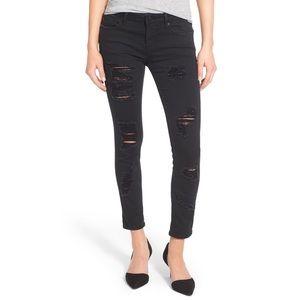 Vigoss 'Tomboy Thompson' Destroyed Skinny Jeans